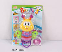 Детская игрушка бабочка погремушка в ручку 892-2
