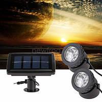 Водонепроницаемый фонарь на солнечной батарее АМФИБИЯ 2