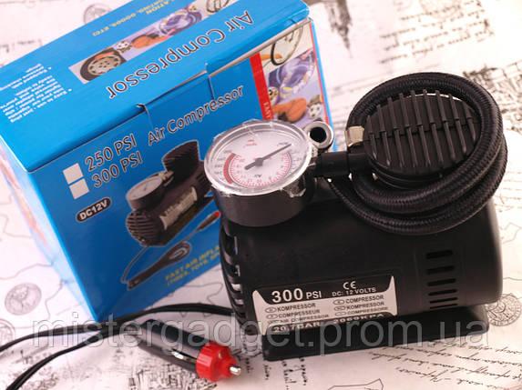 Автомобильный компрессор Air Compressor DC-12V насос 300 PSI, фото 2
