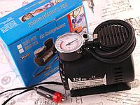 Автомобильный компрессор Air Compressor DC-12V насос 300 PSI