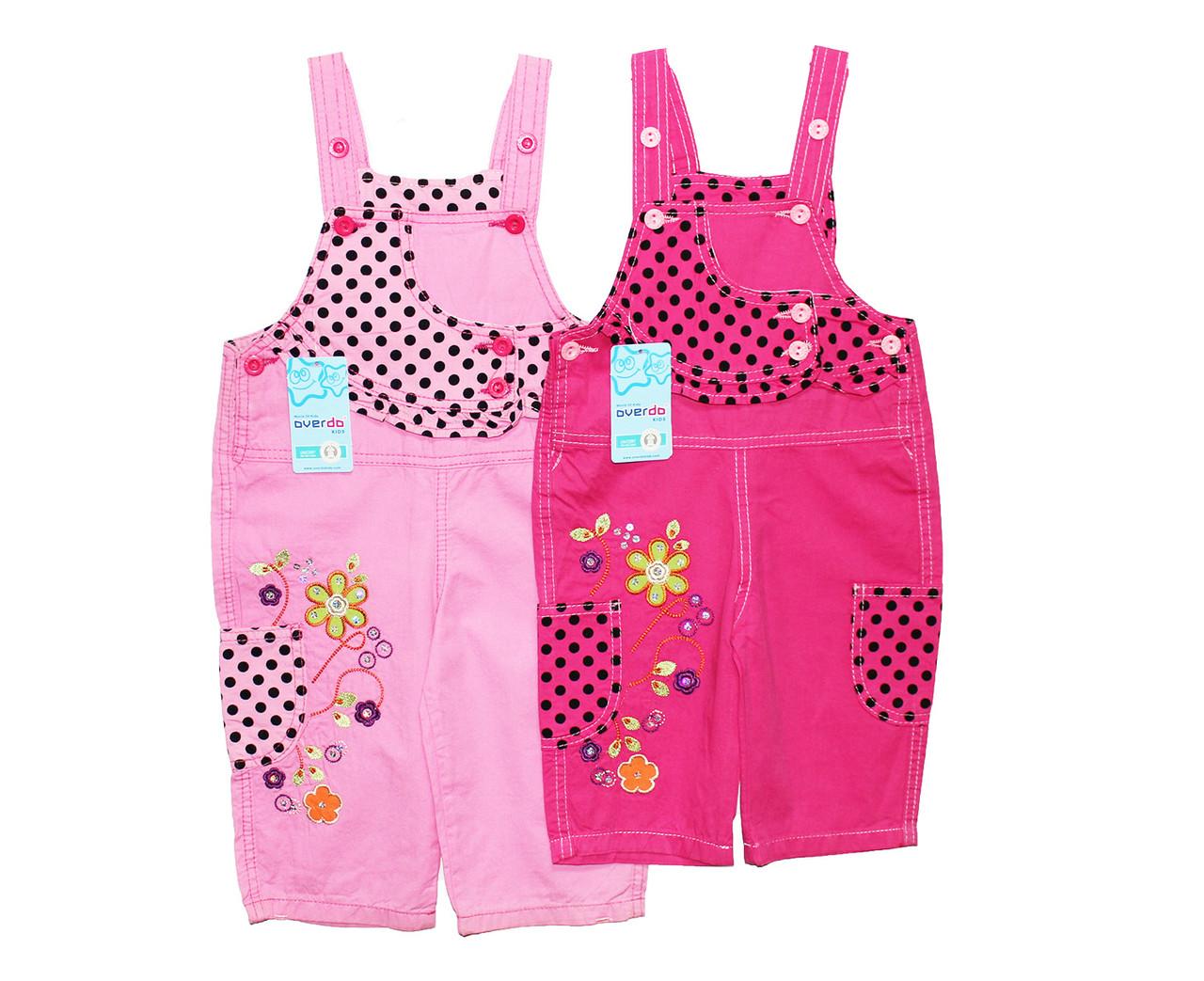Комбинезоны детские трикотажные для девочки Overdo 808