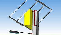 Система крепления автономной системы на бетонную опору, фото 1