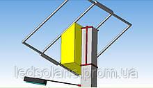 Система кріплення автономної системи на бетонну опору
