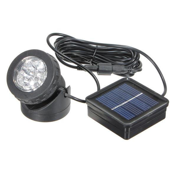 Водонепроницаемый фонарь на солнечной батарее АМФИБИЯ
