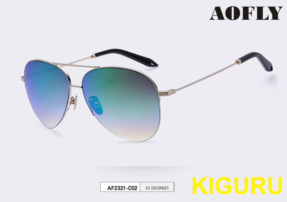 Солнцезащитные очки авиаторы AOFLY. Унисекс
