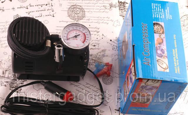 Автомобильный насос  Air Compressor DC-12V компрессор 300 PSI