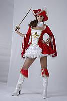Карнавальный костюм Мушкетерка, без рапиры, p. S, M, 86358