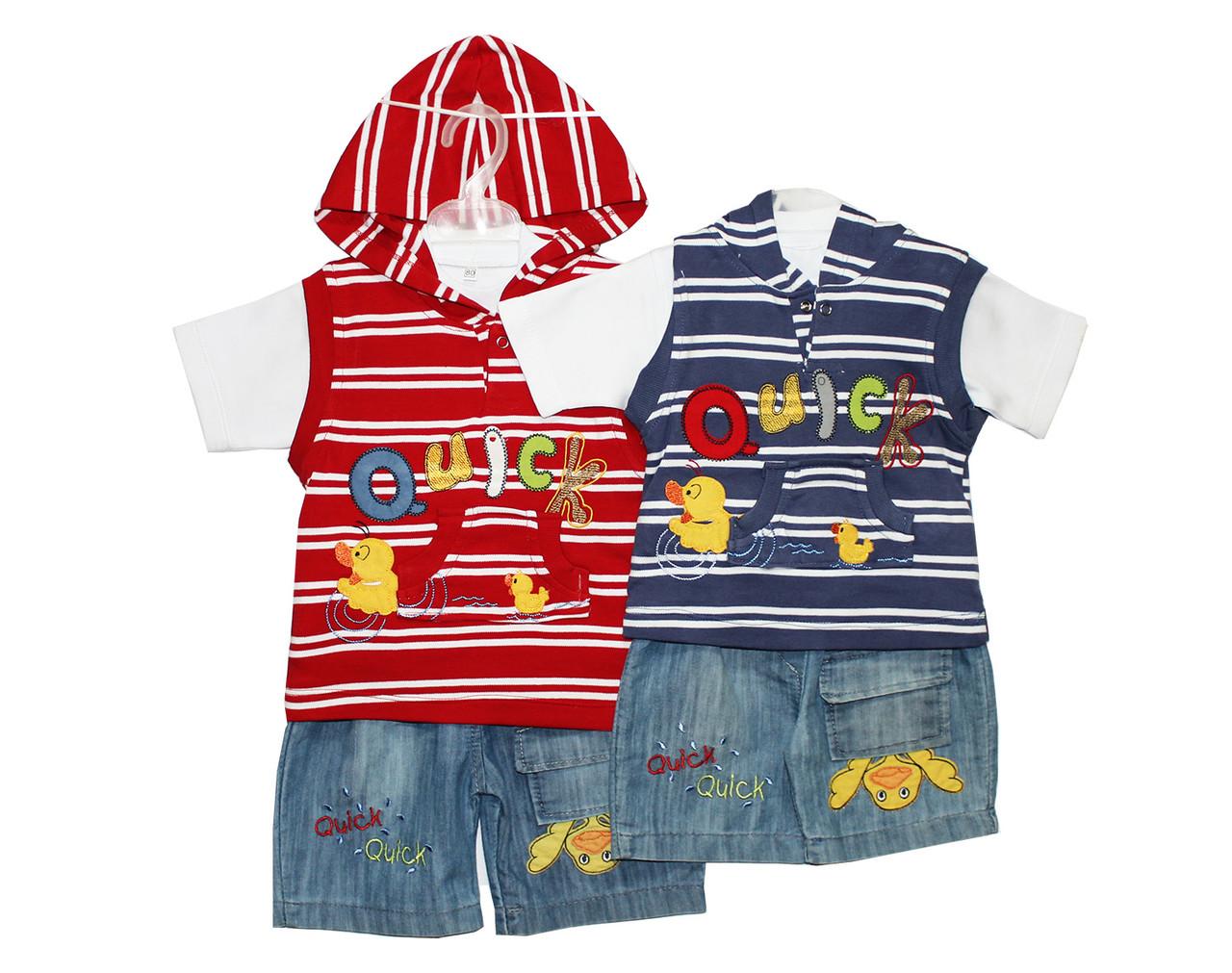 Дитячі костюми на літо для хлопчика №1018