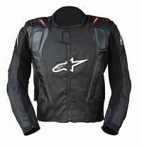 Защитная текстильная мотокуртка с подстежкой и с аэрогорбом Alpinestars, фото 2
