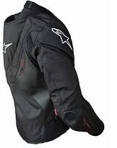 Защитная текстильная мотокуртка с подстежкой и с аэрогорбом Alpinestars, фото 3