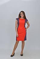 Красивое женское двухцветное платье   размер 34, 36, 38, 40, 42.