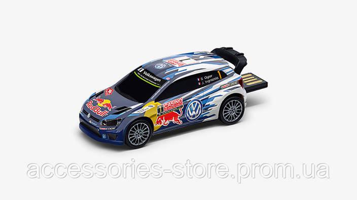 Флешка Volkswagen USB-stick Polo R WRC, Motorsport, 8Gb