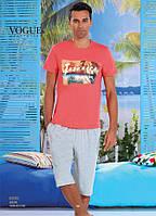 Комплект летний 2-ка футболка с шортами Турция. VOGUE 30006-R. Размер  XL.