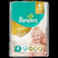 Подгузники Pampers Premium Care Размер 4 (Maxi) 8-14 кг, 20 шт
