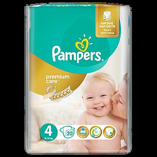 Подгузники Pampers Premium Care Размер 4 (Maxi) 8-14 кг, 20 шт ... 1280625630a