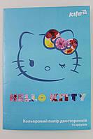 Бумага цветная, двухсторонняя, 15цветов, А4 HK, TM KITE, rv0038674