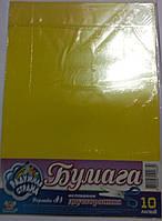 Набор цветной бумаги,мелованной,двохсторонней, А3, TM Мандарин, rv0009052