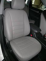Авточехлы из экокожи серые на  Mazda 3 c 2003-2010г. Хэтчбек.