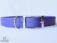 Ошейник из биотана, Фиолетовый, 25мм(пряжка металл)