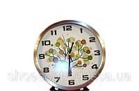 Настенные часы металлические офисные