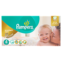 Подгузники Pampers Premium Care Размер 4 (Maxi) 8-14 кг, 104 шт