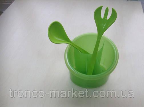 Органайзер-сушка  для столовых приборов+салатная пара, фото 2