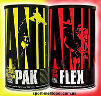 Universal Nutrition ANIMAL FLEX 44 пак + Animal Pak 44 пак