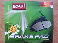 Колодки тормозные передние Chery Amulet A11,A15. Uni-brakes (Китай)