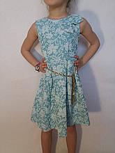 Платье жаккардовое для девочки р.2-10 Made in Italy