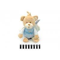 Мягкая игрушка Мишка-ангелок музыкальный в кофте, 19 см, 2 цвета, ТМ Масяня, 8572/19