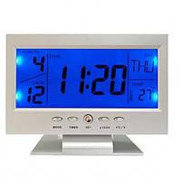Настольные часы VST 8082 с датчиком хлопка