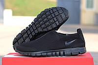 Мужские кроссовки nike free run 3 0 чёрный