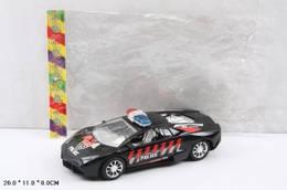 Машинка легковая инерционная, полиция 2 цвета, A100-2