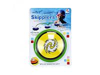 Игра спортивная, блинчик прыгает по воде, 10,5см, M 3014