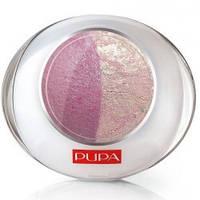 PUPA Тени  компактные  двойные LUMINYS  20 Buble-Pink