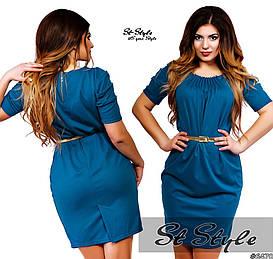 Платье женское ботал  арт 29220/322-419