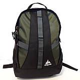 Мужской надежный рюкзак 27 л One polar W921 прочный долговечный, фото 2