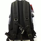 Мужской надежный рюкзак 27 л One polar W921 прочный долговечный, фото 6