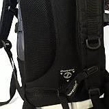 Мужской надежный рюкзак 27 л One polar W921 прочный долговечный, фото 8