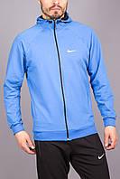 Мужская спортивная кофта Nike на замке с капюшоном