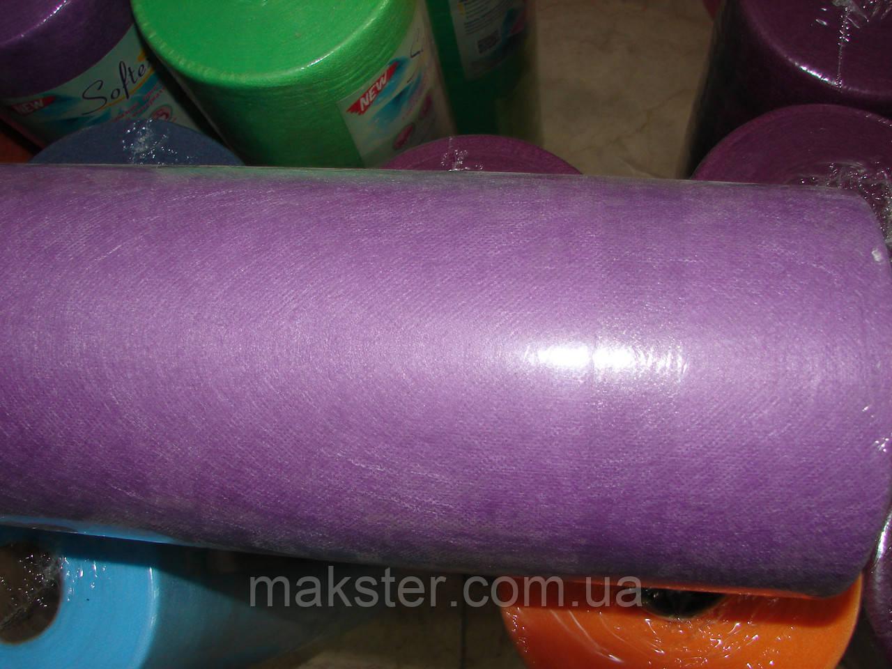 Простынь одноразовая, лиловая, 20гр/м 0,8 х 100м