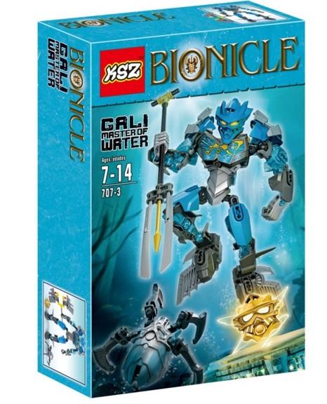 Конструктор KSZ серия Bionicle 707-3 Гали - Мастер воды (аналог Lego Bionicle 70786)