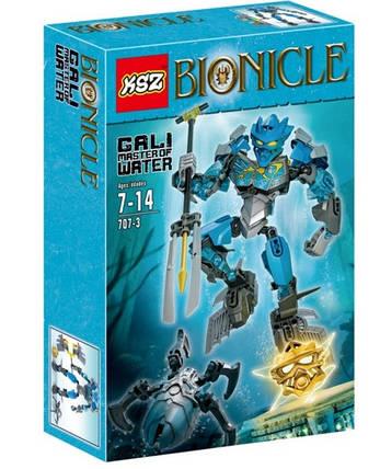 Конструктор KSZ серия Bionicle 707-3 Гали - Мастер воды (аналог Lego Bionicle 70786), фото 2