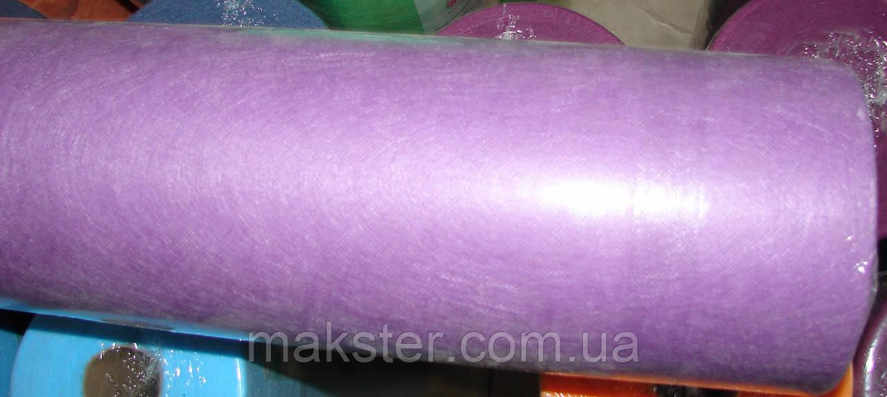 Простынь одноразовая, лиловая, 23гр/м 0,6 х 100м