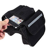 Сумочка нарамная сумка карманом кармашком баул велосумка велосумочка бардачек