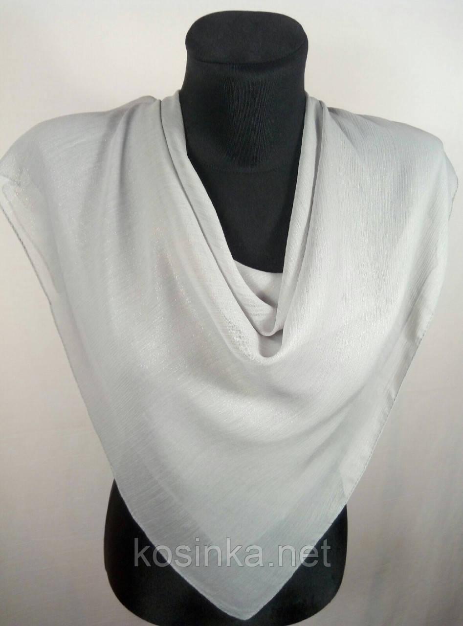 Серый платок с напылением №248 (цв.1)