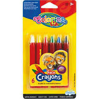 Мел для лица, карандаши, 6 цв. COLORINO, 32629PTR