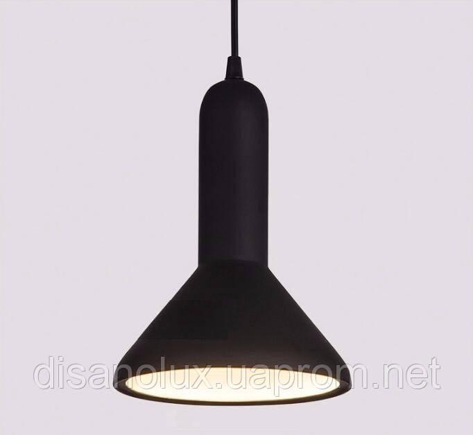 Cветильник подвесной  DL -L180 BLACK E27  180x250мм