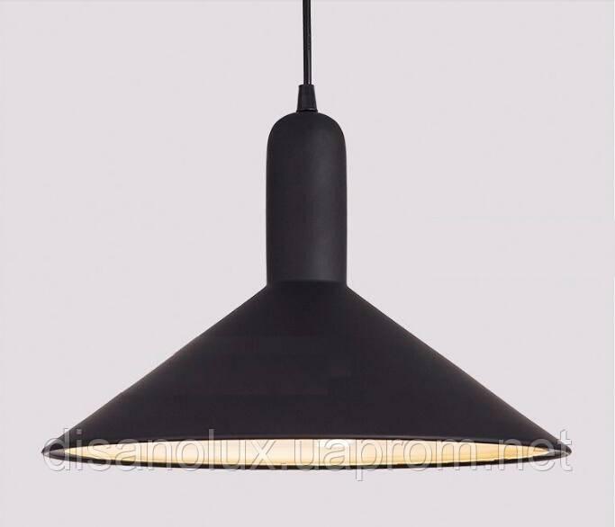 Cветильник подвесной  DL -L350 BLACK E27  350x250мм