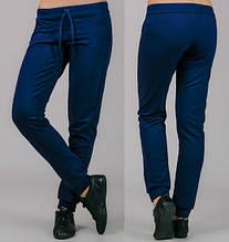 Жіночі трикотажні штани Класика (темно-сині)